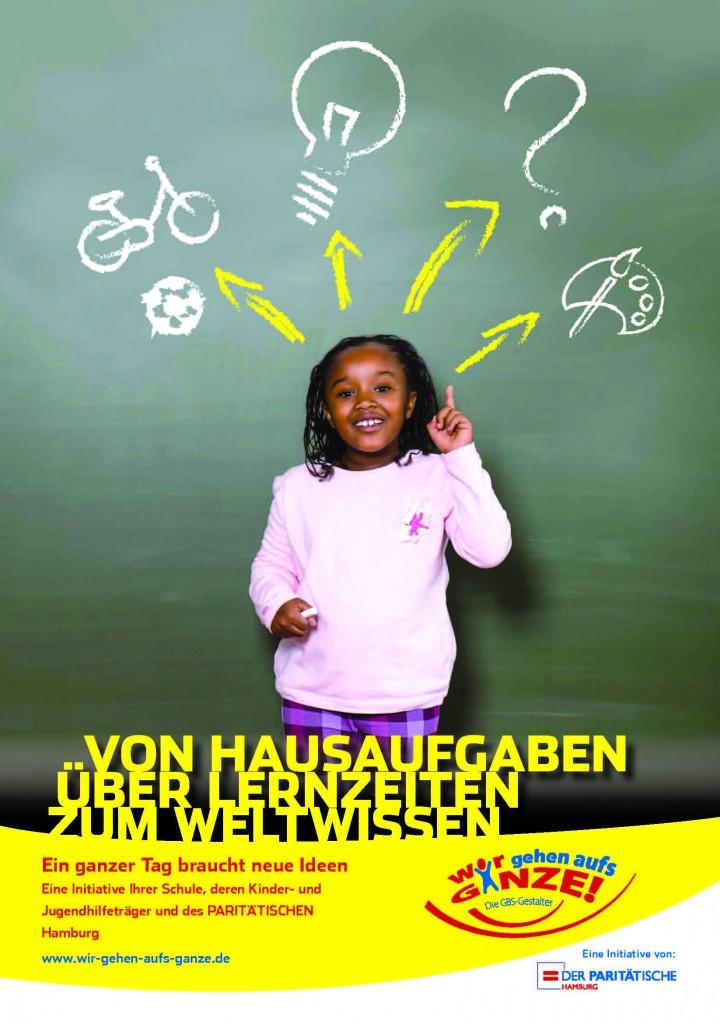 Von Hausaufgaben über Lernzeiten zum WeltWissen - Informationsbroschüre