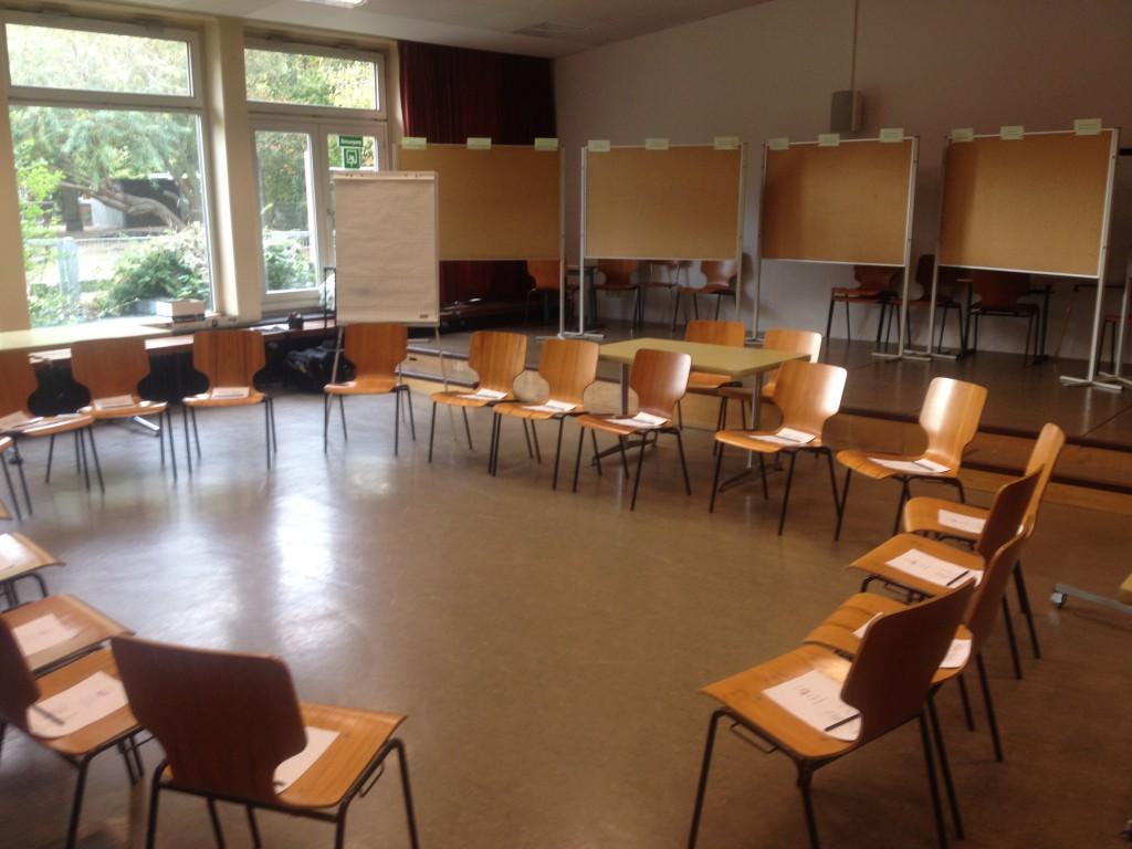 Klassischer Aufbau eines Workshops in einer Grundschule